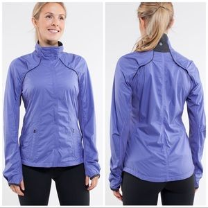 Lululemon Run: Essentials Jacket Persian Purple